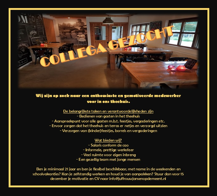 vacature-theehuis